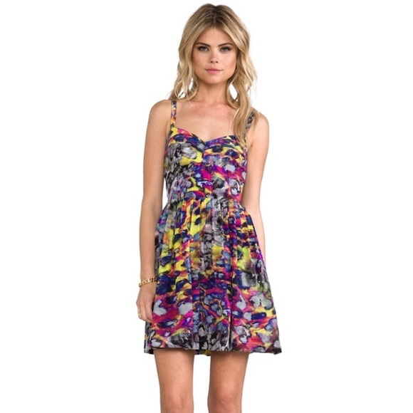 84% off Amanda Uprichard Dresses Silk Dress | Poshmark